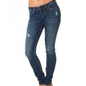 Silver Jeans suki super skinny Joga Jean  size 34